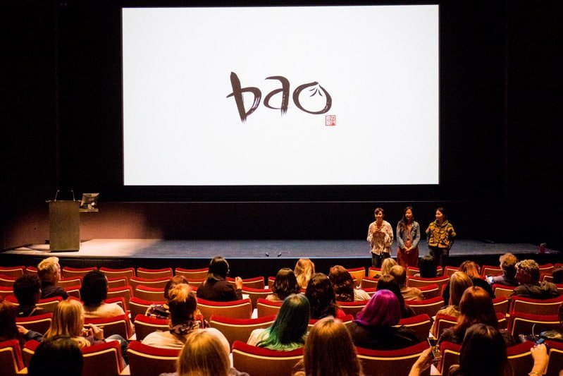 Filmmakers of the Bao short film