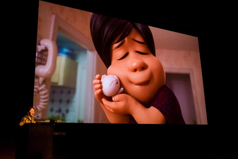 Showcasing the squishy Bao in the new Pixar short film
