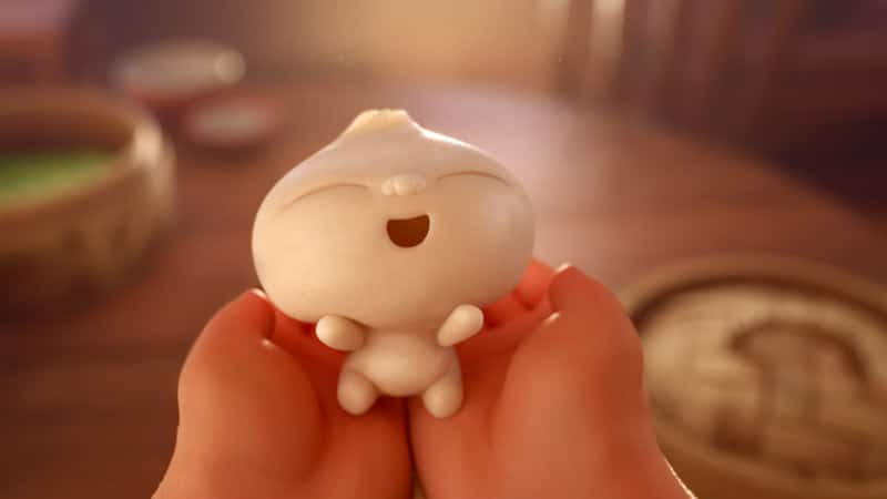 Squishy Bao in Pixar short film