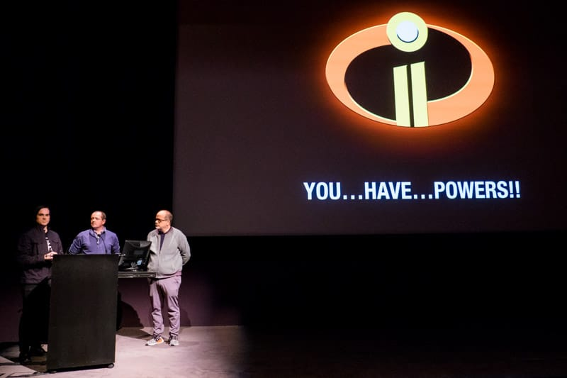 Pixar Effects team talking about Jack Jack's Powers