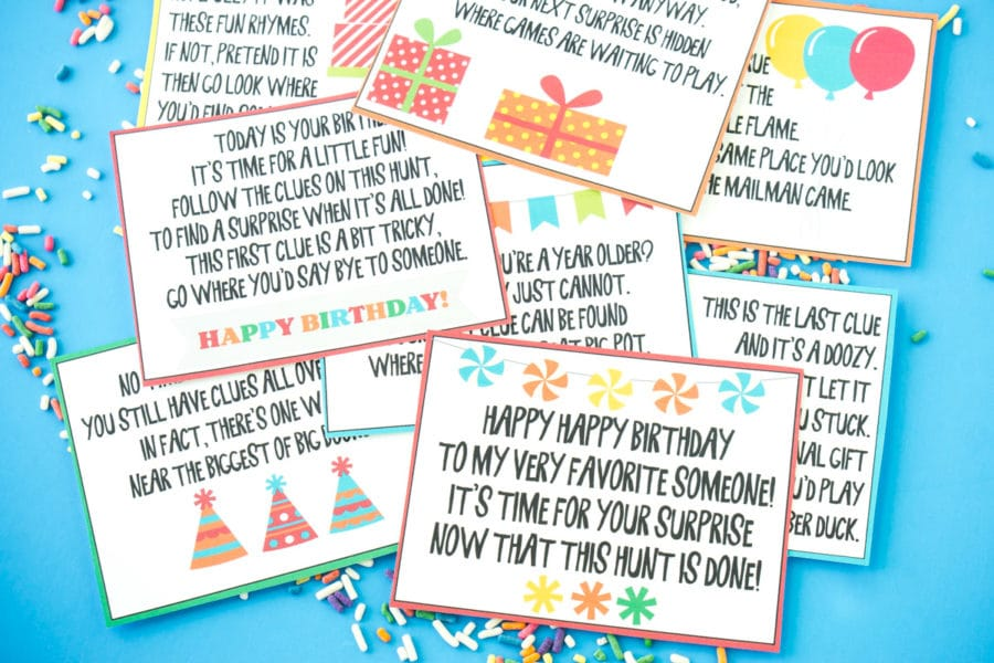 graphic about Free Printable Pretend Disney Tickets named A Tremendous Exciting Cost-free Printable Birthday Scavenger Hunt - Enjoy
