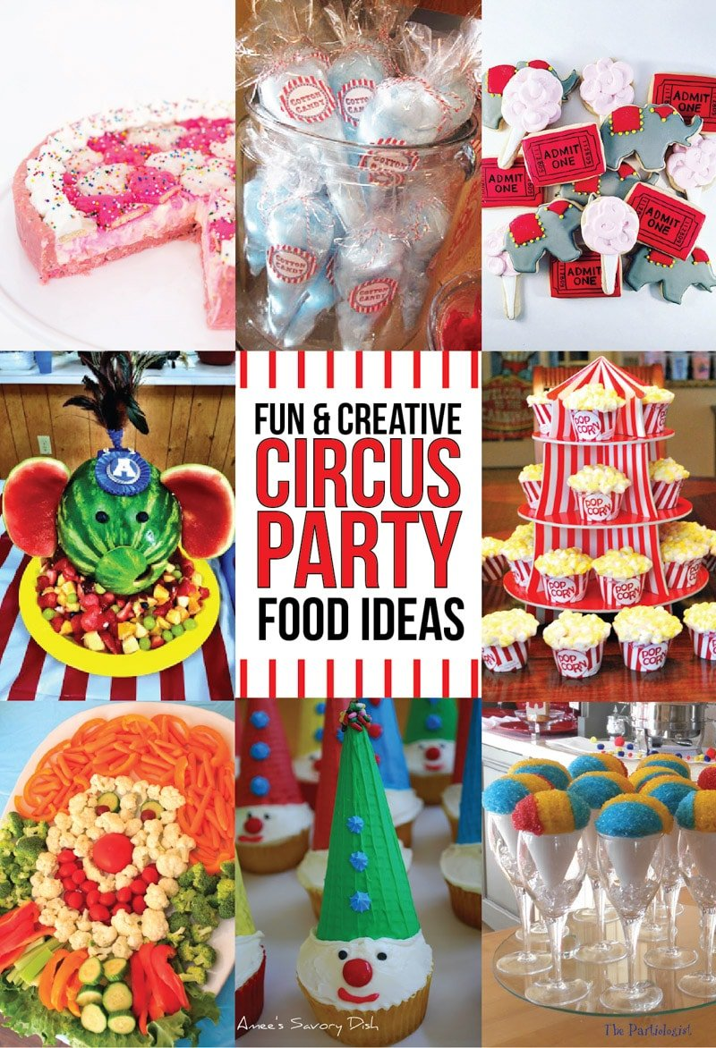 41 of the greatest circus theme party ideas play party plan