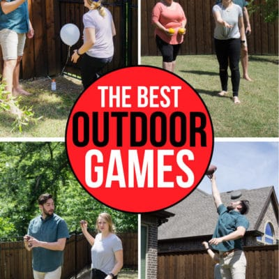 36 of the Most Fun Outdoor Games for All Ages