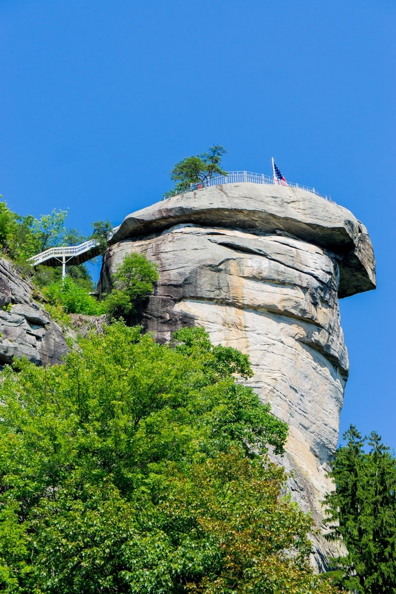 Chimney Rock State Park in Lake Lure NC
