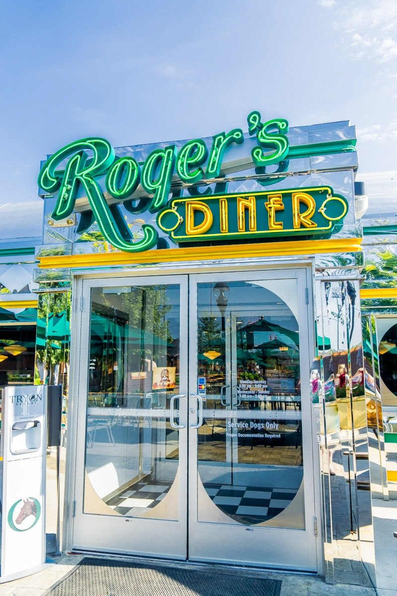 Roger's Diner exterior at the Tryon Equestrian Center