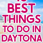 Daytona Beach picture with text for Pinterest
