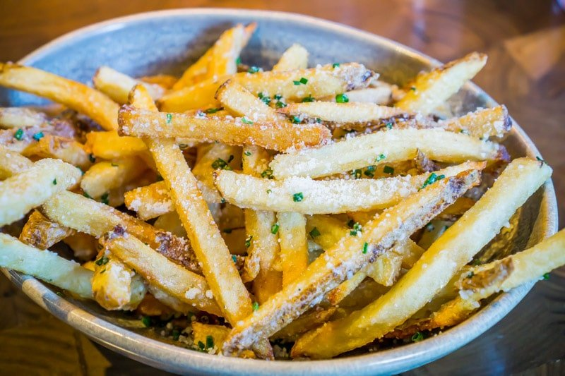 White truffle fries are one of the best items at The Henry Phoenix