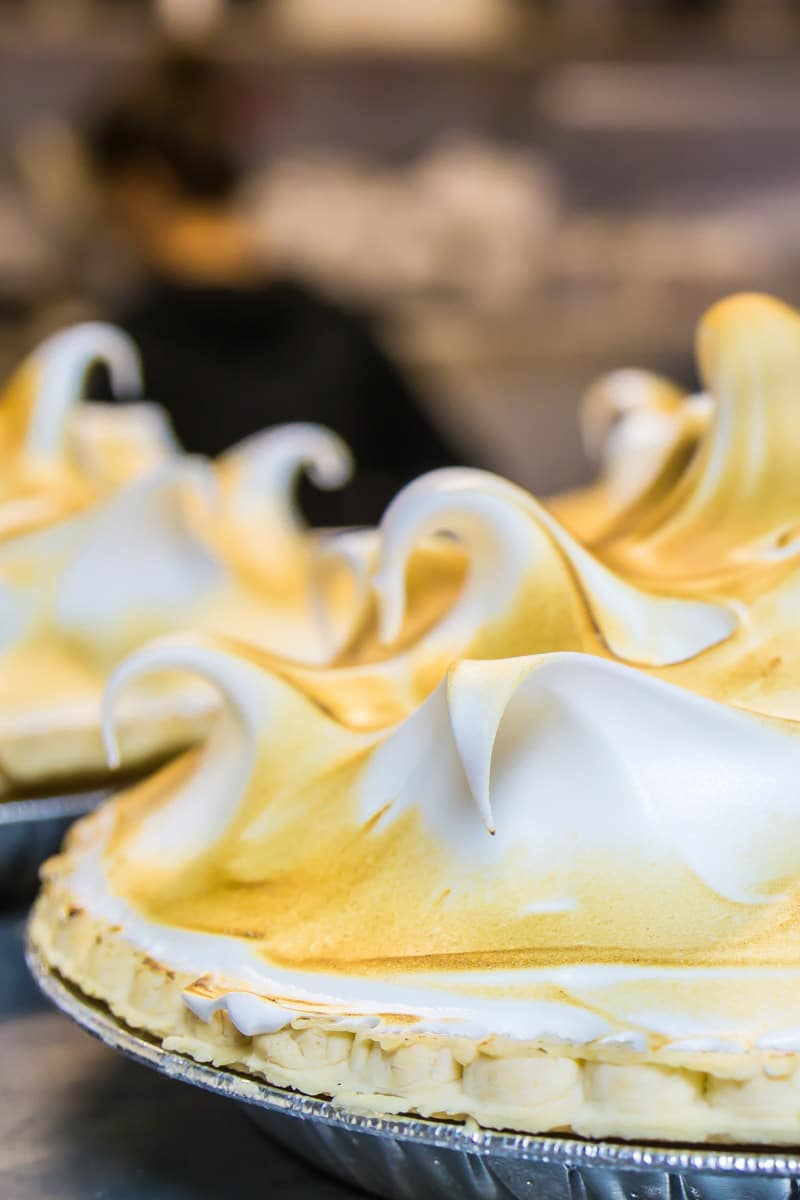 Lemon meringue pie and all the other pies make Rock Springs Cafe one of the most fun places to eat in Phoenix