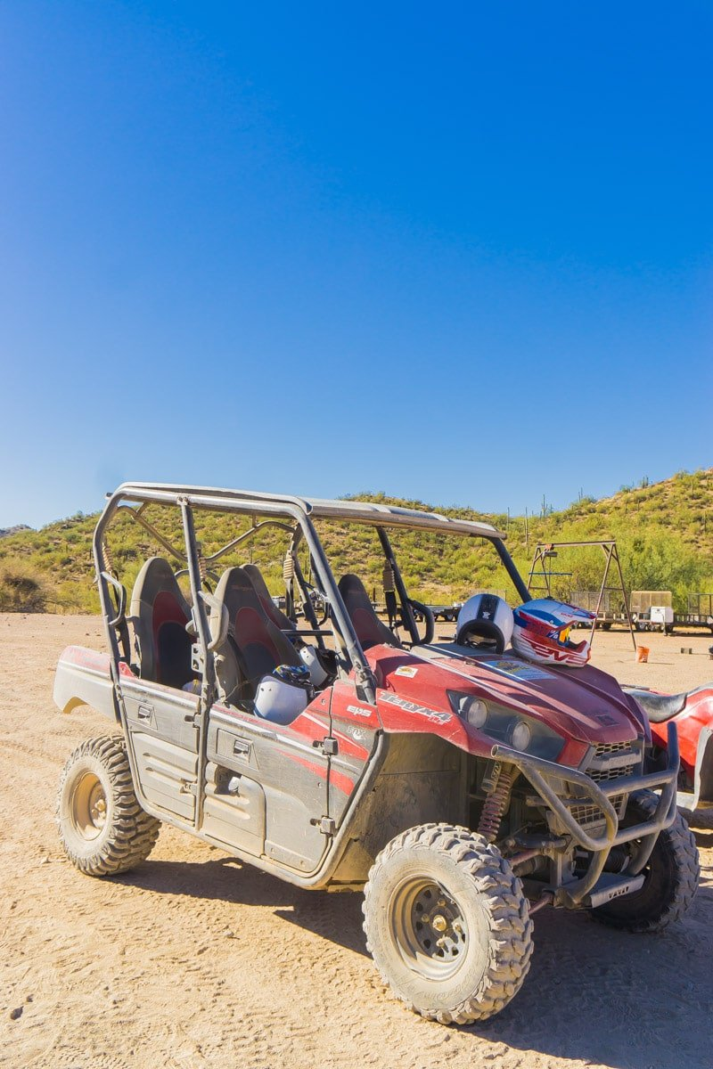 A UTV bike from Outdoor Adventure Fun Phoenix