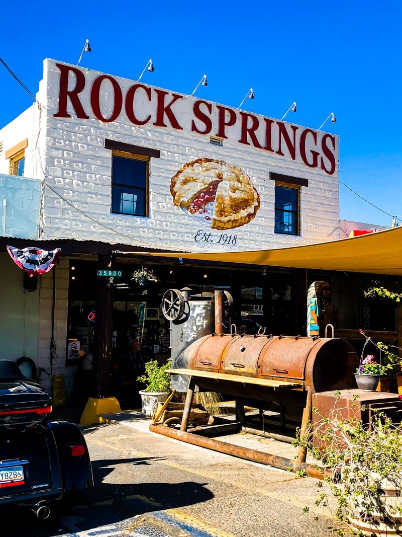 Outside Rock Springs Cafe in Phoenix
