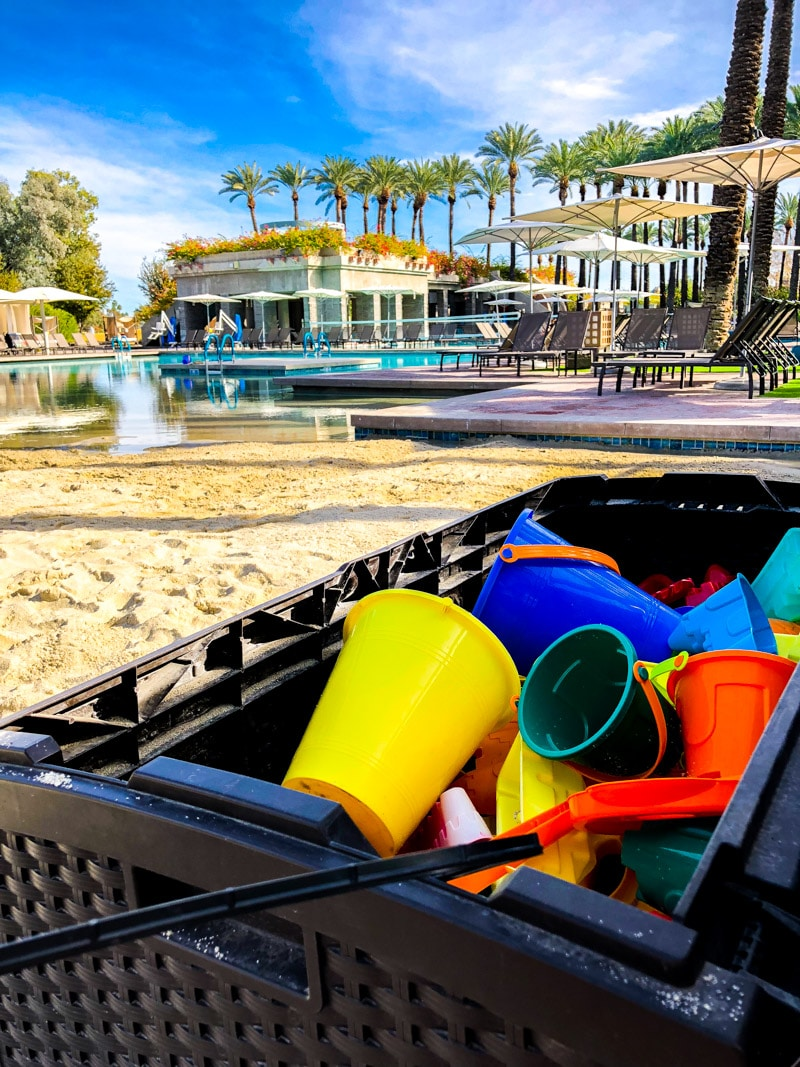 Toys and play areas make the Hyatt Regency one of the best family resorts in Phoenix
