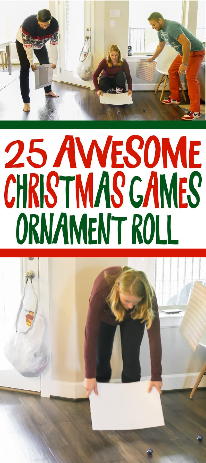 25 hilarious Christmas minute to win it games for all ages