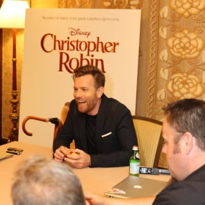 An Interview with Ewan McGregor on Christopher Robin, His Co-Stars, and More!