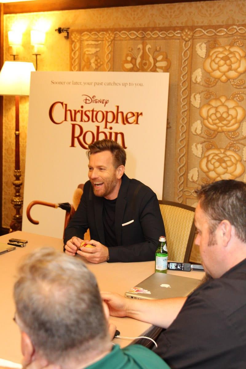 An interview with Ewan McGregor as Christopher Robin