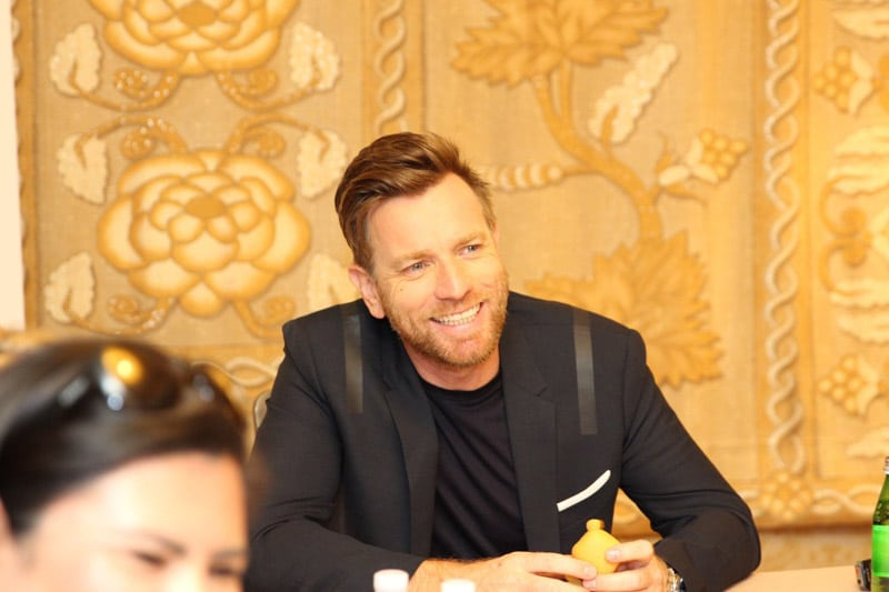 An interview with Ewan McGregor about Playing Christopher Robin