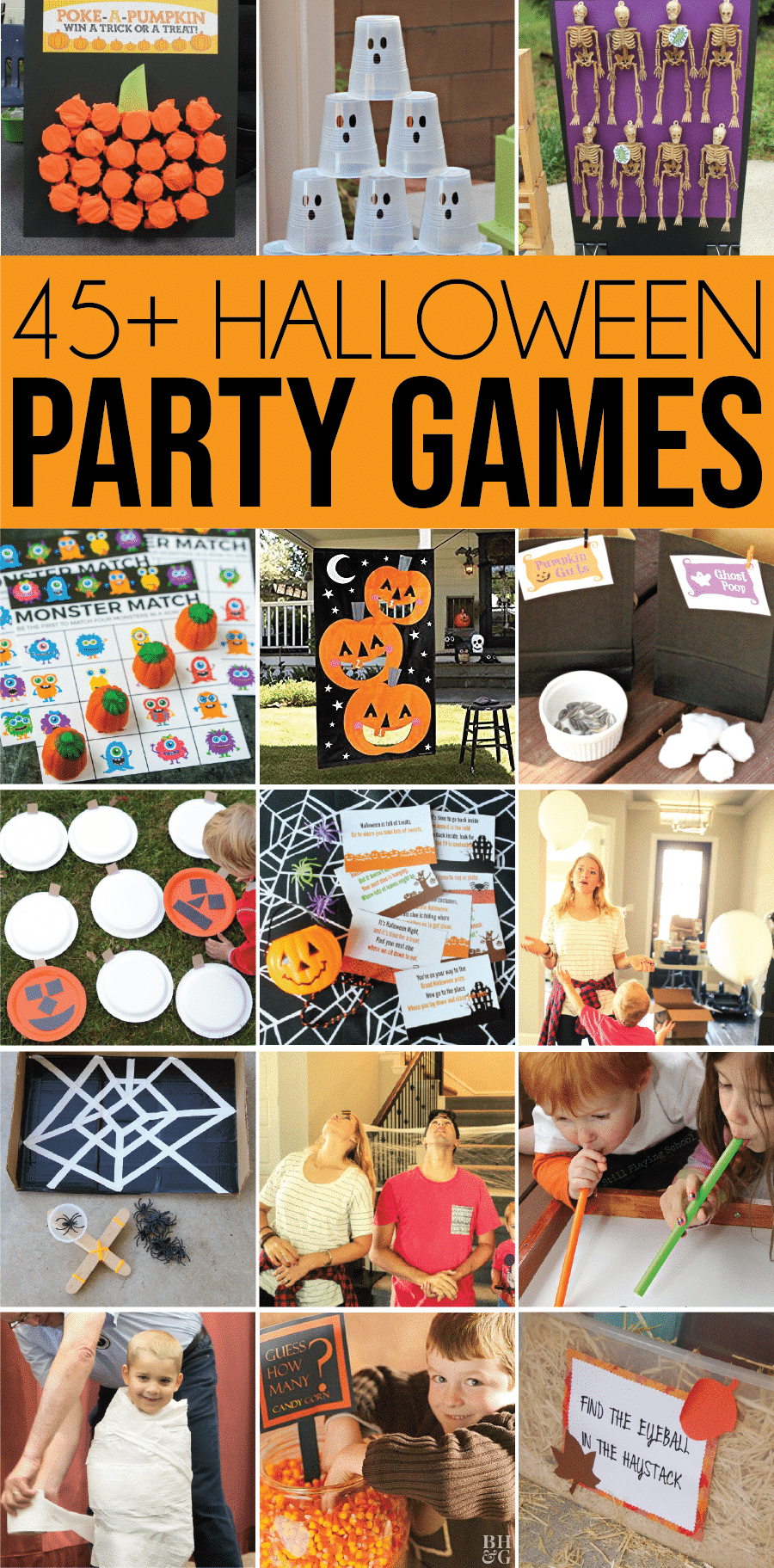 45 Halloween games for all ages