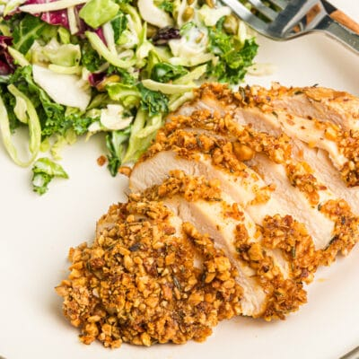 Cut up almond chicken
