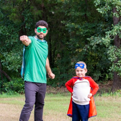 Easy DIY Superhero Costume Ideas