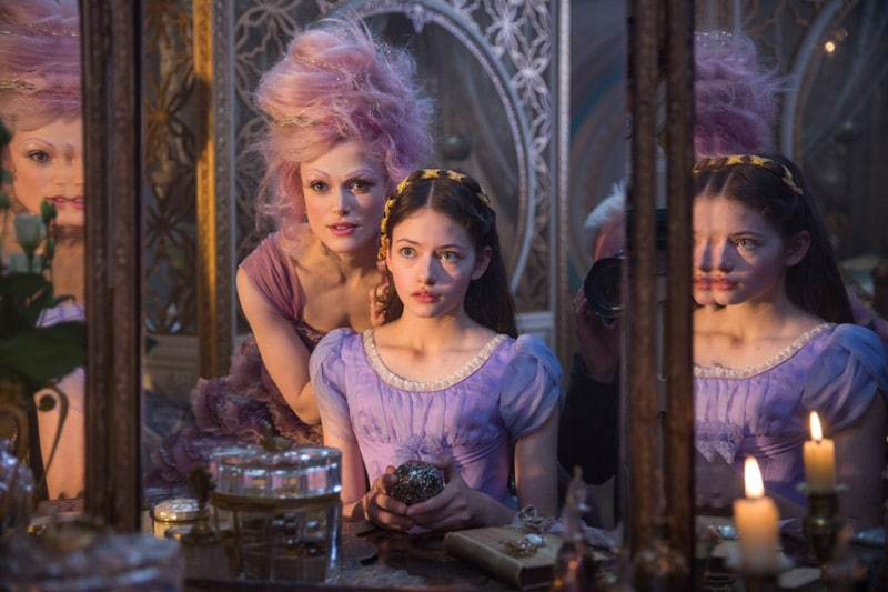 Sugar Plum Fairy with Clara in the Nutcracker movie