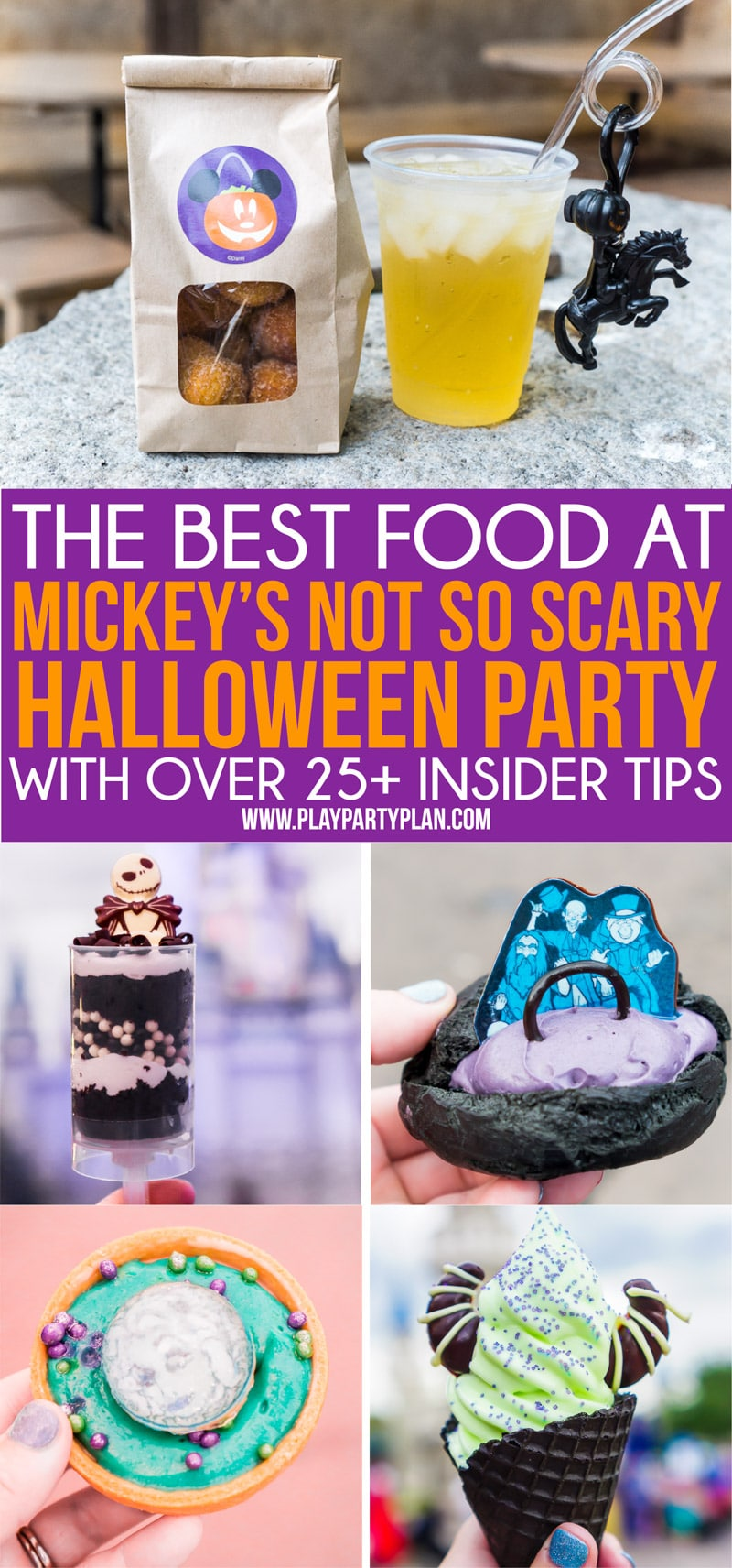 Insider tips and tricks for going to Mickey's Not So Scary Halloween Party at Disney World! Food to eat, costume ideas, schedules, and more!