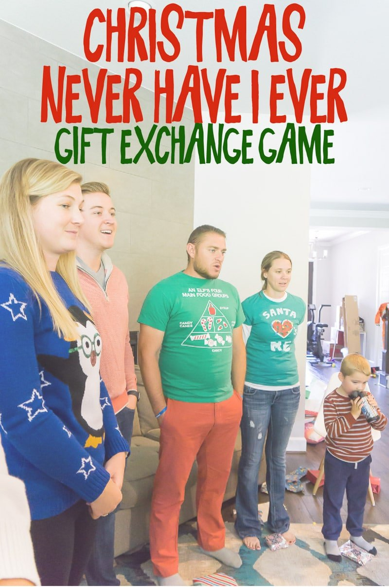 Christmas gift exchange game ideas families multiple kids