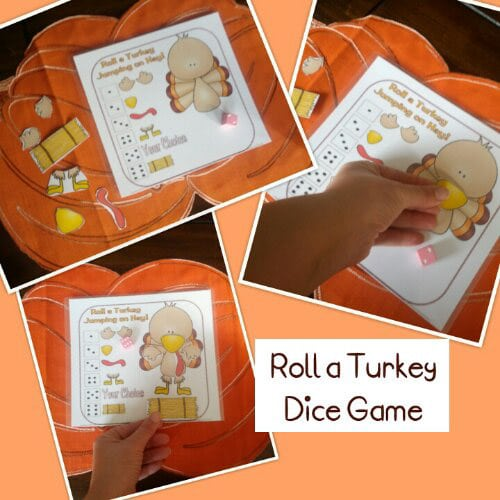 Roll a turkey Thanksgiving games