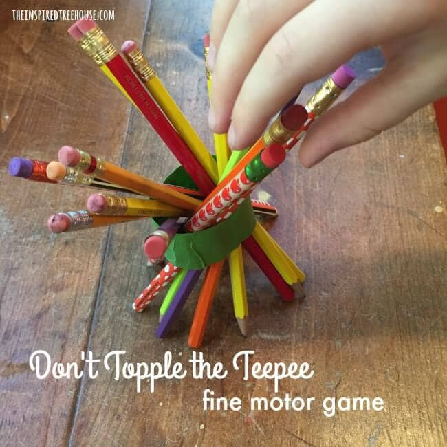 Thanksgiving games for motor skills