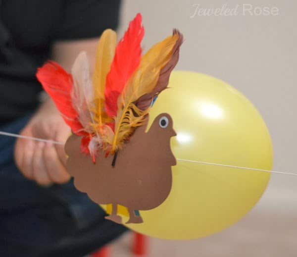 Turkey rocket Thanksgiving games