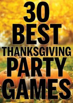 The best Thanksgiving games for family! Tons of fun ideas for kids, for adults, and even for preschool! Play outdoor, at the table over Thanksgiving dinner, or use as activities to do for work all month long. Everything from printable games to minute to win it games and of course funny games that will keep you laughing all day long!