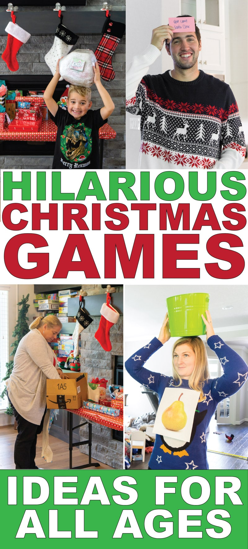 25 Hilarious Christmas Party Games You