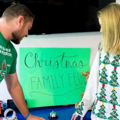 FREE Thanksgiving & Christmas Family Feud Game