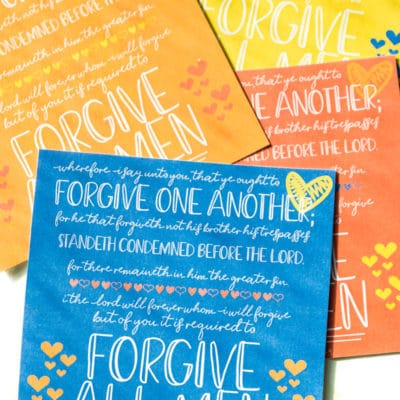 Printable Forgiveness Quotes & Handouts