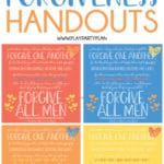 Free printable forgiveness quotes and lesson ideas