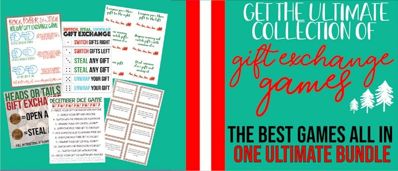 the best gift exchange games all in one printable pdf instructions printable cheat sheets printable playing cards and more click on the image below to