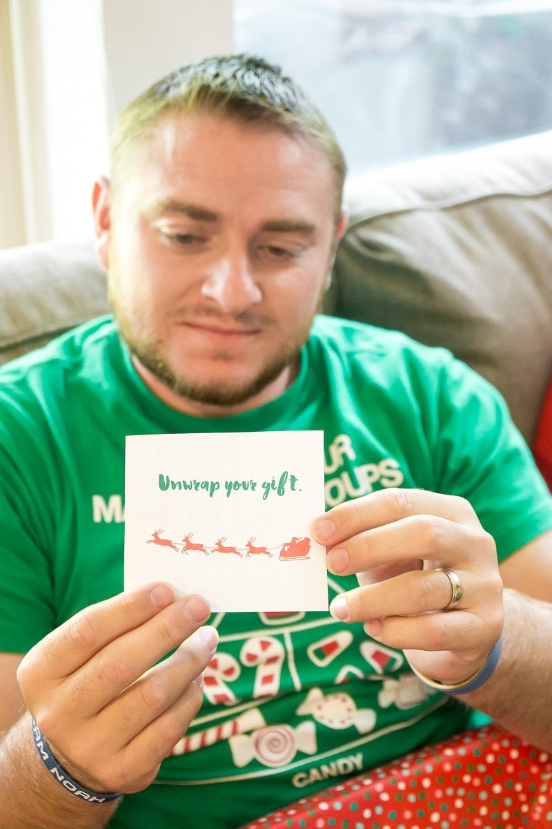 A gift exchange card game