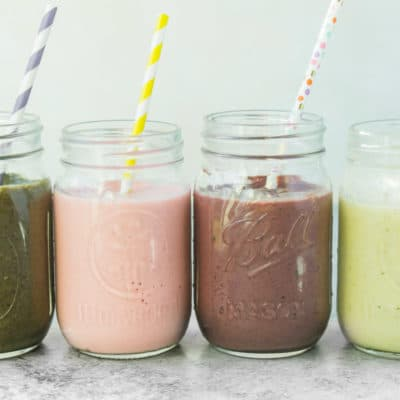4 Delicious & Healthy Smoothie Recipes