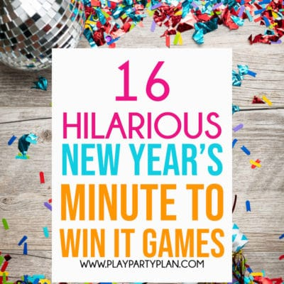 Hilarious New Year's Eve Minute to Win It Games