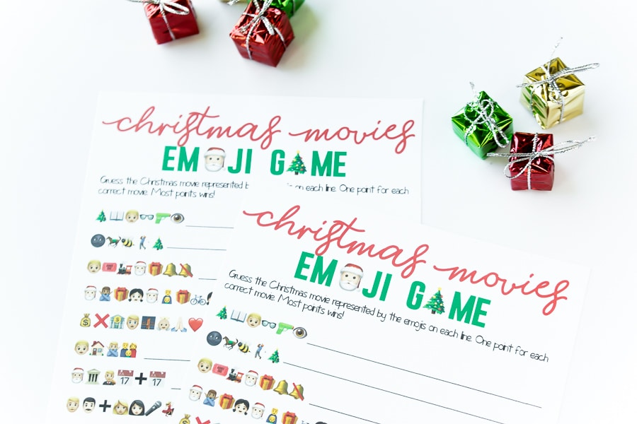 photograph regarding Printable Christmas Games With Answers known as Free of charge Printable Xmas Emoji Video game - Engage in Bash Software