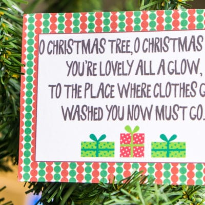 Free Printable Christmas Scavenger Hunt