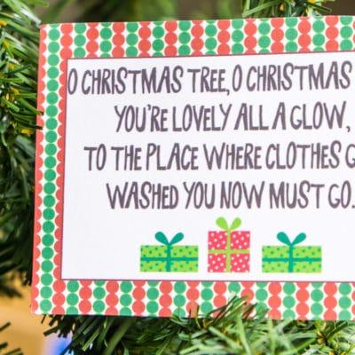 Free Printable Christmas Scavenger Hunt