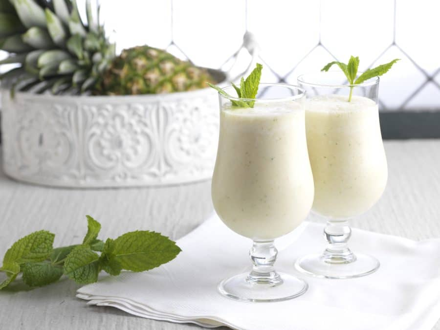 A dole pineapple smoothie