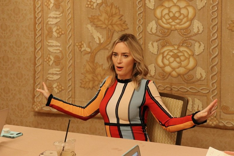 An Emily Blunt Mary Poppins exclusive interview