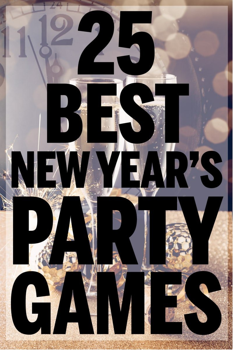 new year eve games for teens