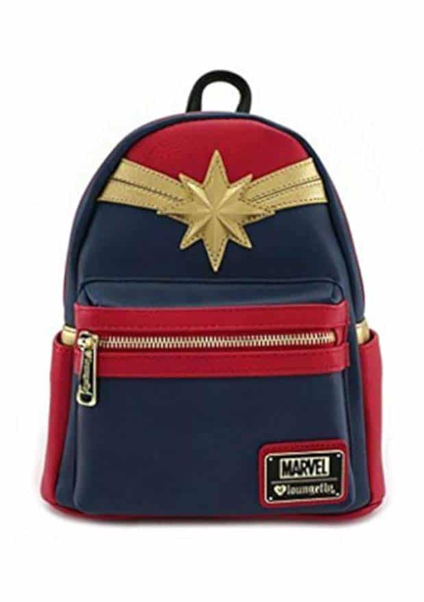 Finish your Captain Marvel costume with this Captain Marvel backpack
