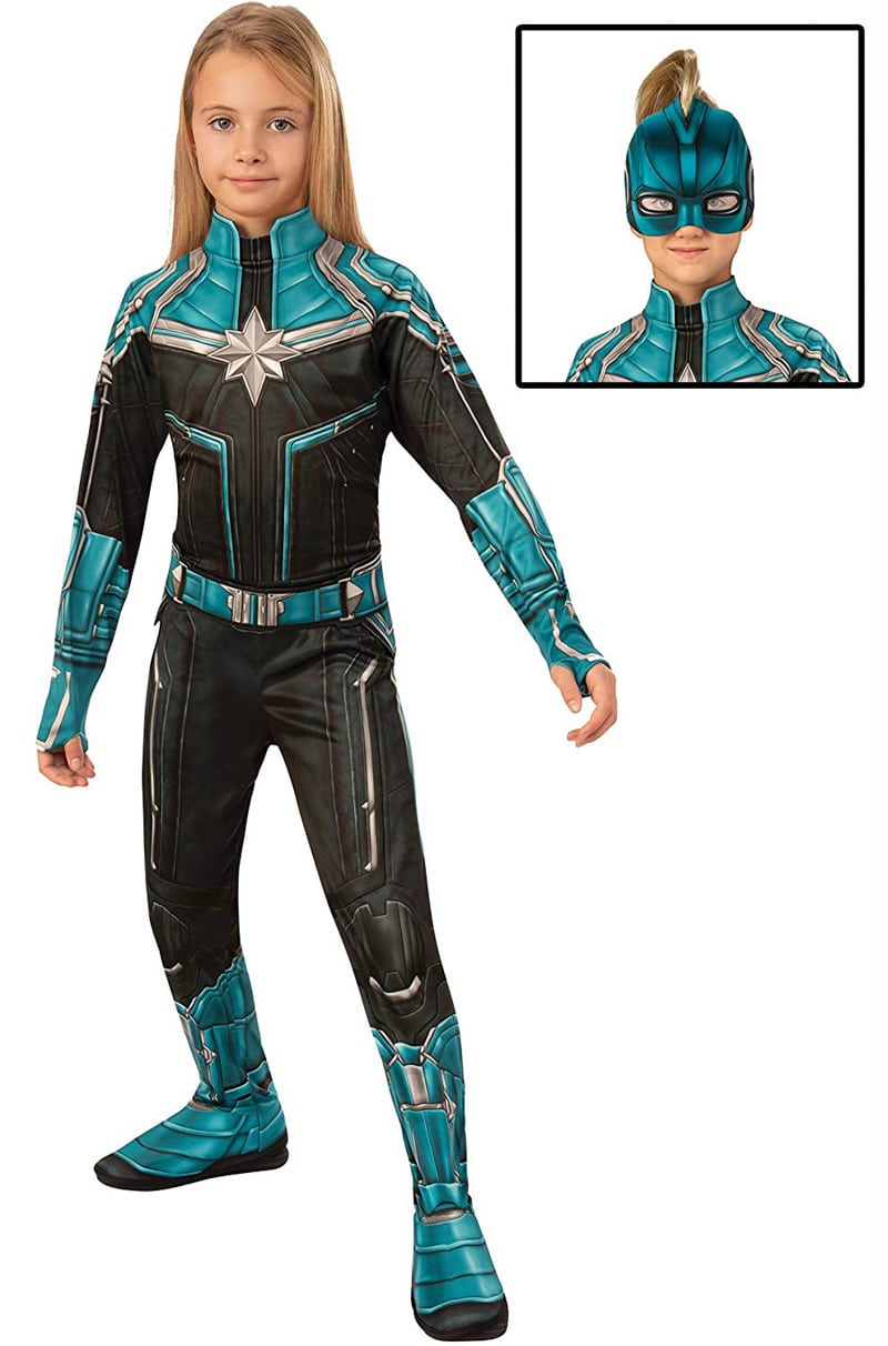 A Kree Captain Marvel costume for kids