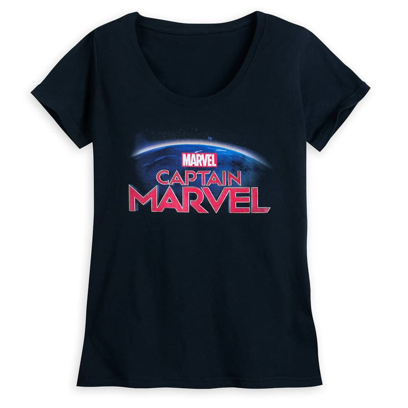 A Captain Marvel movie shirt
