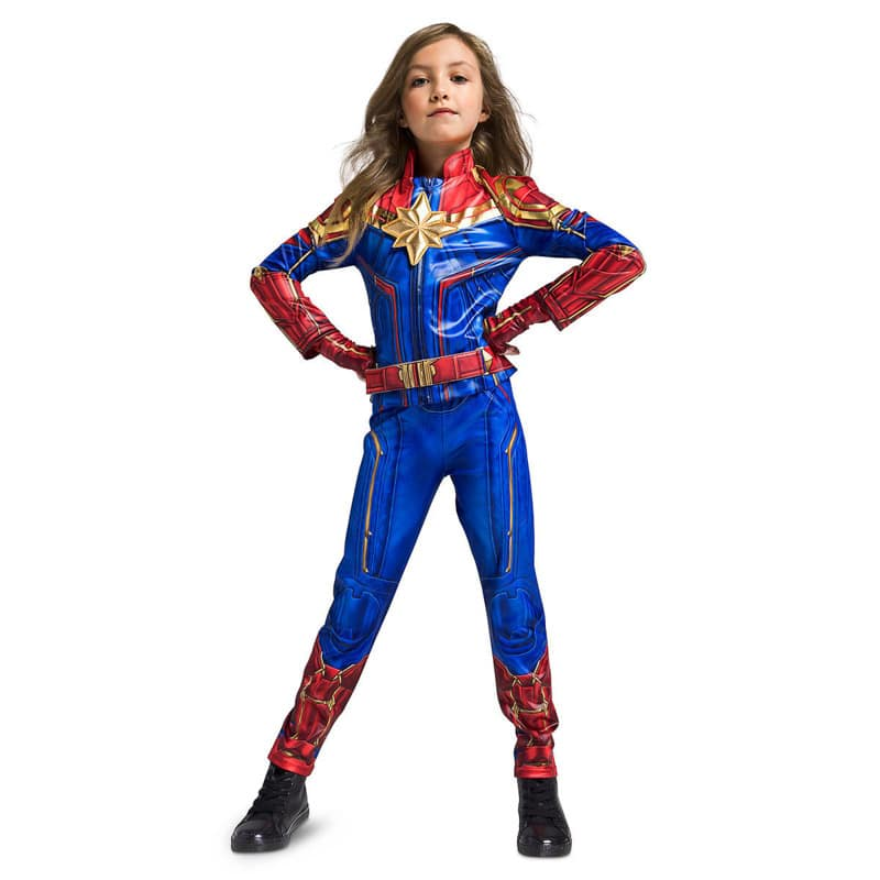 A great Captain Marvel costume for kids