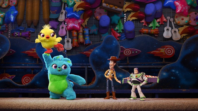 Woody and Buzz Lightyear in a photo and lineup of Disney movies coming out in 2019