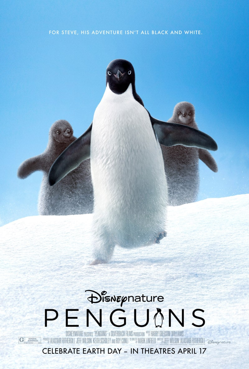 PENGUINs movie trailer with a list of Disney movies coming soon