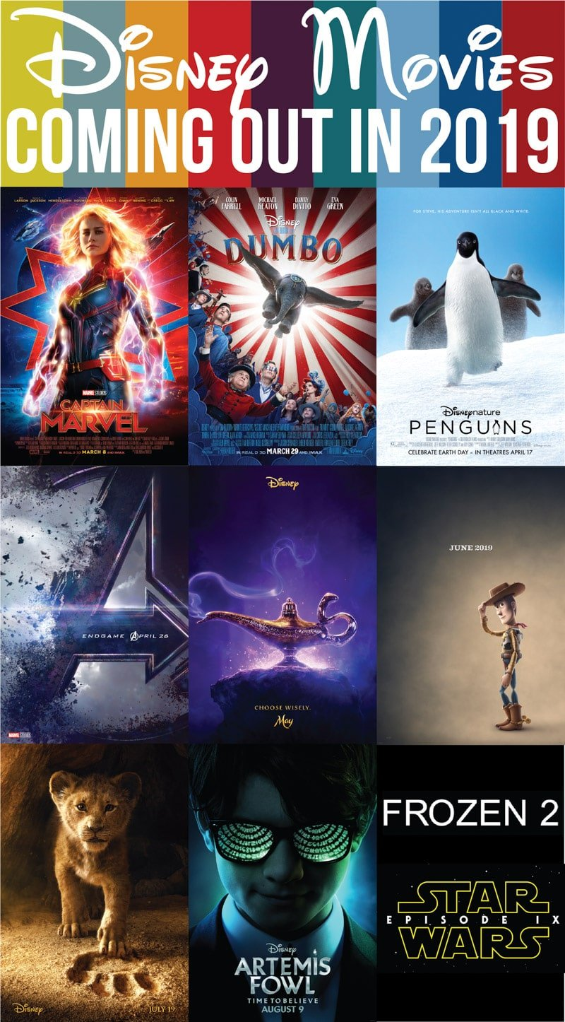 The full list of Disney movies coming out in 2019 - Disney movies, Marvel movies, Star Wars movies, and more!